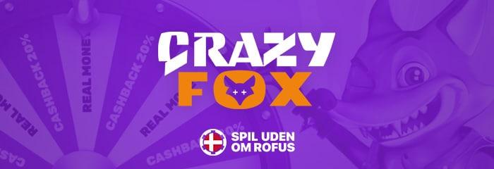 crazyfox anmedelse spiludenomrofus