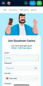 Goodman Casino Anmeldelse bonusser Spiludenomrofus.net