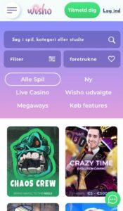 Wisho Casino Anmeldelse casinospil Spiludenomrofus.net