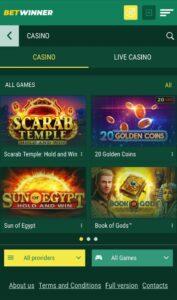 Betwinner Casino Anmeldelse casinospil Spiludenomrofus.net