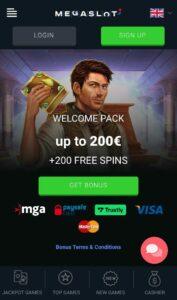 Megaslot Casino Anmeldelse bonusser Spiludenomrofus.net