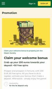 Mason Slots Casino Anmeldelse bonusser Spiludenomrofus.net