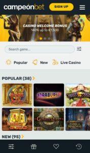Campeonbet Anmeldelse casinospil Spiludenomrofus.net