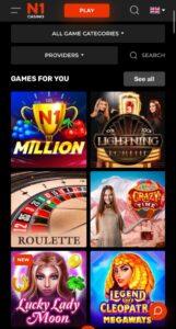 N1 Casino Anmeldelse casinospil Spiludenomrofus.net