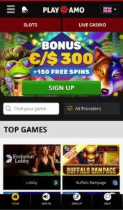 PlayAmo Casino Anmeldelse bonusser Spiludenomrofus.net